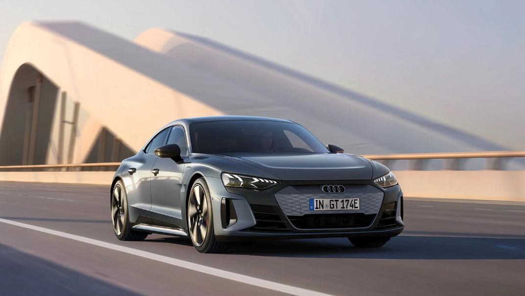 2021 Audi e-tron GT quattro Exterior 004