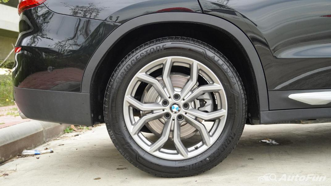 2020 2.0 BMW X3 xDrive20d M Sport Exterior 040