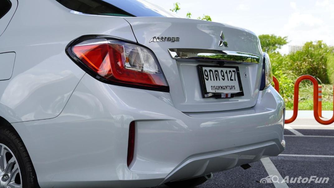2020 1.2 Mitsubishi Attrage GLS-LTD CVT Exterior 032