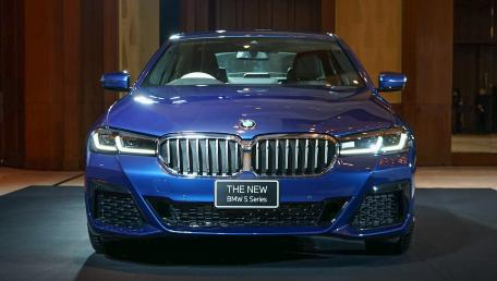 2021 BMW 5 Series Sedan 520d M Sport ราคารถ, รีวิว, สเปค, รูปภาพรถในประเทศไทย | AutoFun