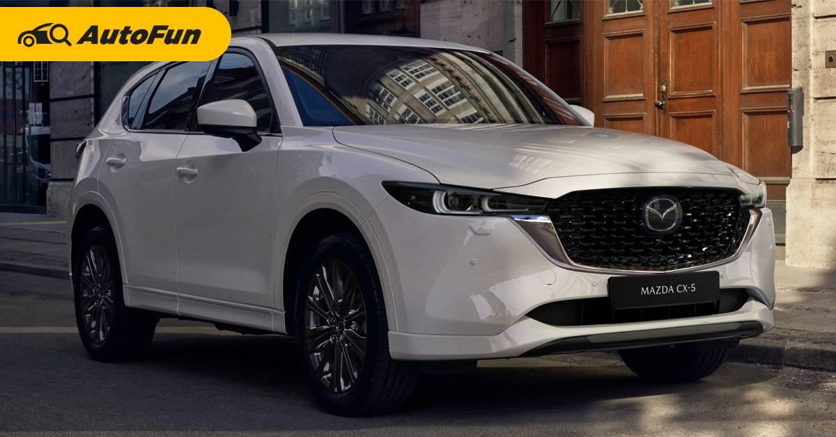 ยลโฉม 2022 Mazda CX-5 ไมเนอร์เชนจ์ส่งท้าย เปลี่ยนจุดใดบ้างมาชมกัน 01