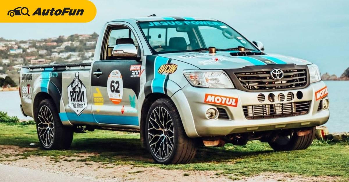 Toyota Hilux Vigo V12 ใช้เครื่อง 500 กว่าแรงม้า วางลงในตัวถังนี้ได้ยังไง มีรูปและสเปคให้ดู 01