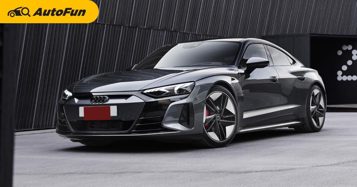 เปิดตัว 2021 Audi RS e-tron GT ราคา 6.39 ล้านบาท สเปคนำเข้าฝาแฝด Taycan 01