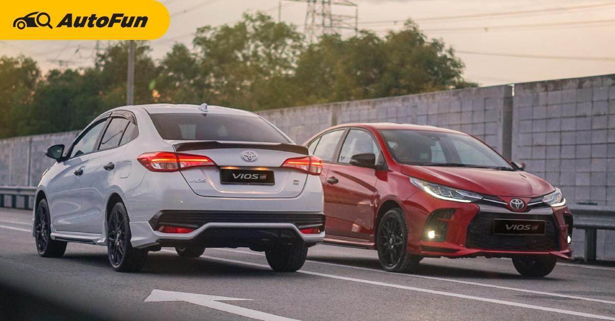 Gazoo Racing ขอบ้างได้ไหม? 2021 Toyota Vios GR Sport เปิดตัวในประเทศมาเลเซียแล้ว 01
