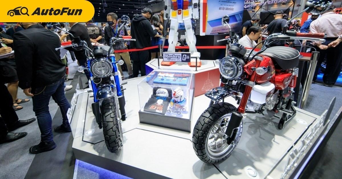 ถ กใจไม ม คำว าแพง Honda Monkey Gundam Zaku Ii หน งเด ยวในโลกก บราคาประม ลทะล 500 000 บาท Autofun