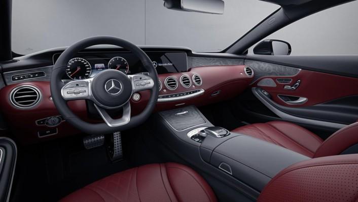 Mercedes-Benz S-Class Cabriolet 2020 Interior 002
