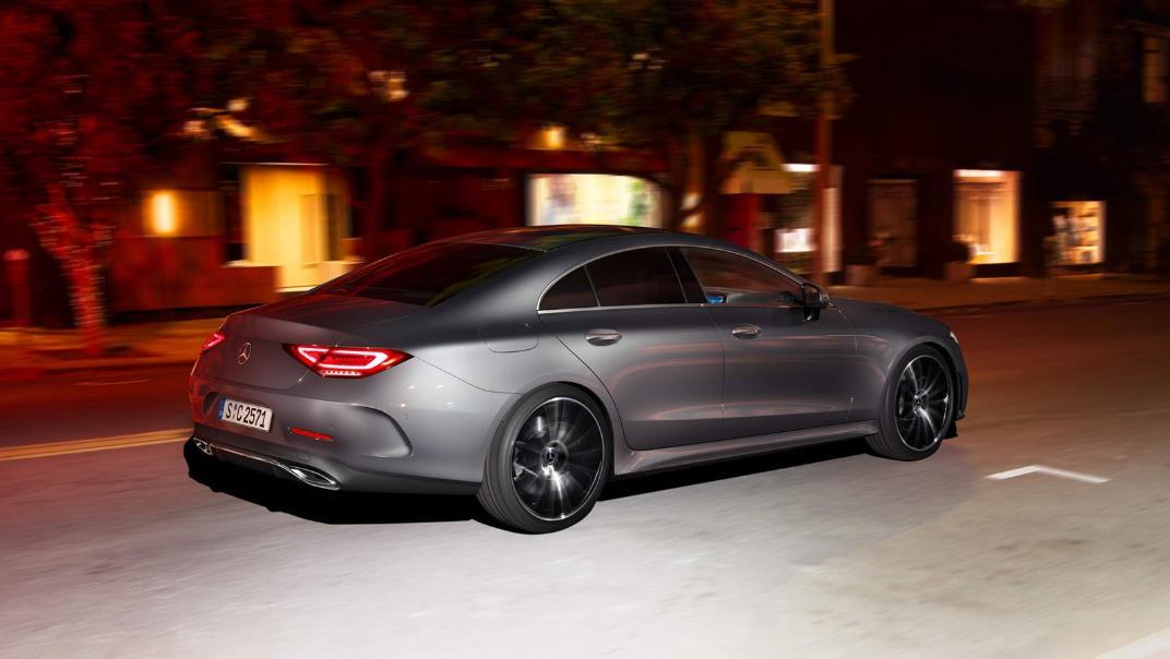 Mercedes-Benz CLS-Class Coupe Public 2020 Exterior 002