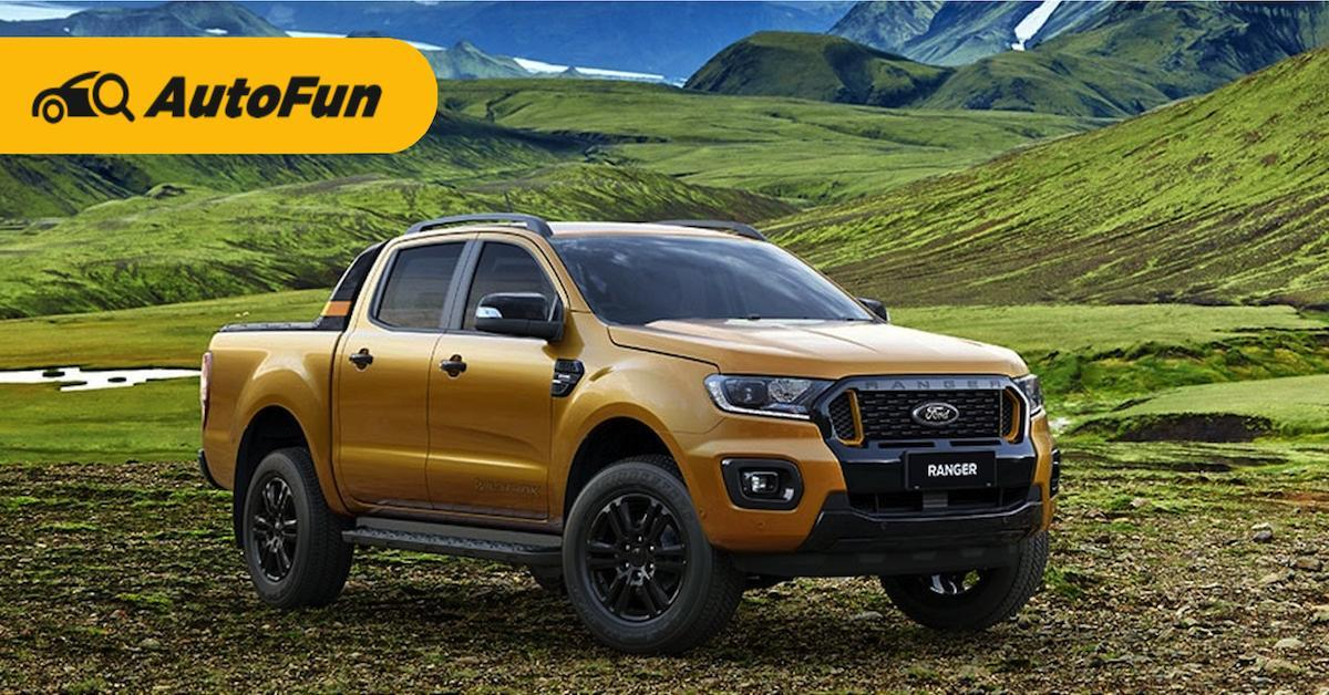 Ford Ranger Wildtrak กระบะสายพันธุ์แกร่งพลังอึด ราคาเริ่ม 9.82 แสนบาท 01