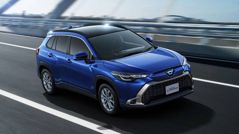 2021 Toyota Corolla Cross ไม่ได้ไร้เทียมทาน ขายดีในญี่ปุ่นแต่ยังห่าง Honda HR-V 02
