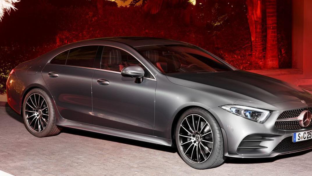 Mercedes-Benz CLS-Class Coupe Public 2020 Exterior 001