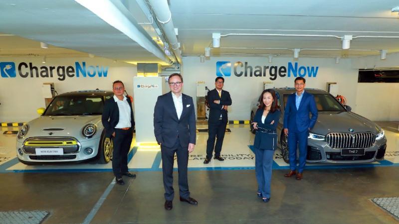 BMW เพิ่มเครื่องชาร์จไฟ ChargeNow ให้รถยี่ห้อไหนก็ใช้ได้ ของฟรีในห้างหรูกลางเมือง 02
