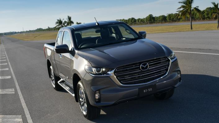 2021 Mazda BT-50 Freestyle cab Upcoming Version Exterior 008