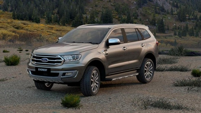 Ford Everest 2020 Exterior 001