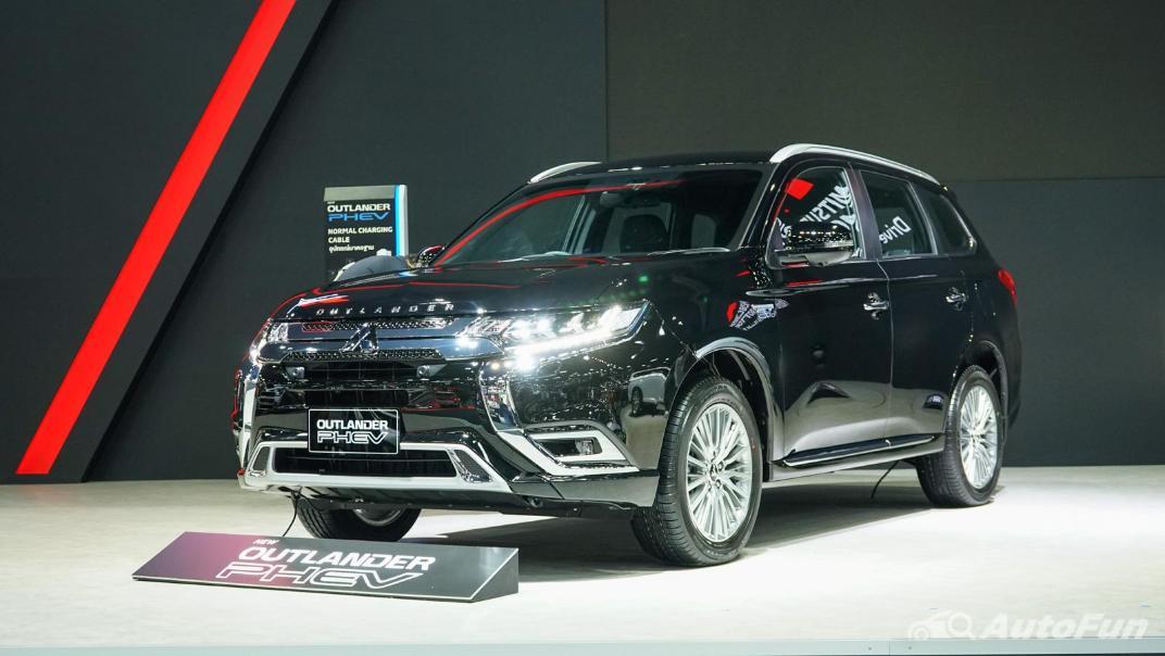 2021 Mitsubishi Outlander PHEV GT Exterior 013