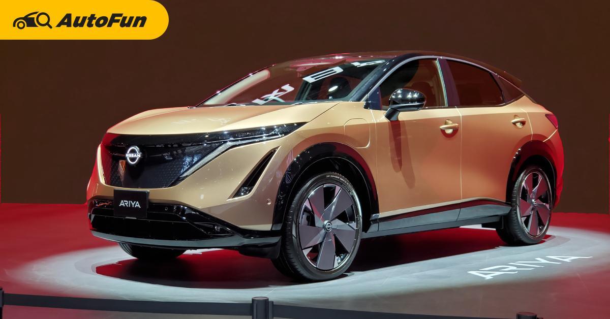 ชมคันจริง 2021 Nissan Ariya พลังไฟฟ้า 380 แรงม้า ชอบเหรอ..ยังไม่ขายนะ 01