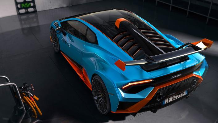 2021 Lamborghini Huracan STO Exterior 010