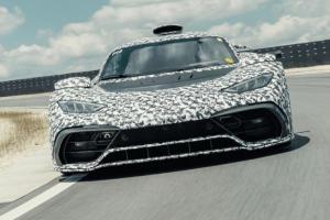 Mercedes-AMG Project ONE ปล่อยภาพรถทดสอบสยบข่าวลือ กับสเปคเครื่อง F1 กำลังเกิน 1,000 แรงม้า