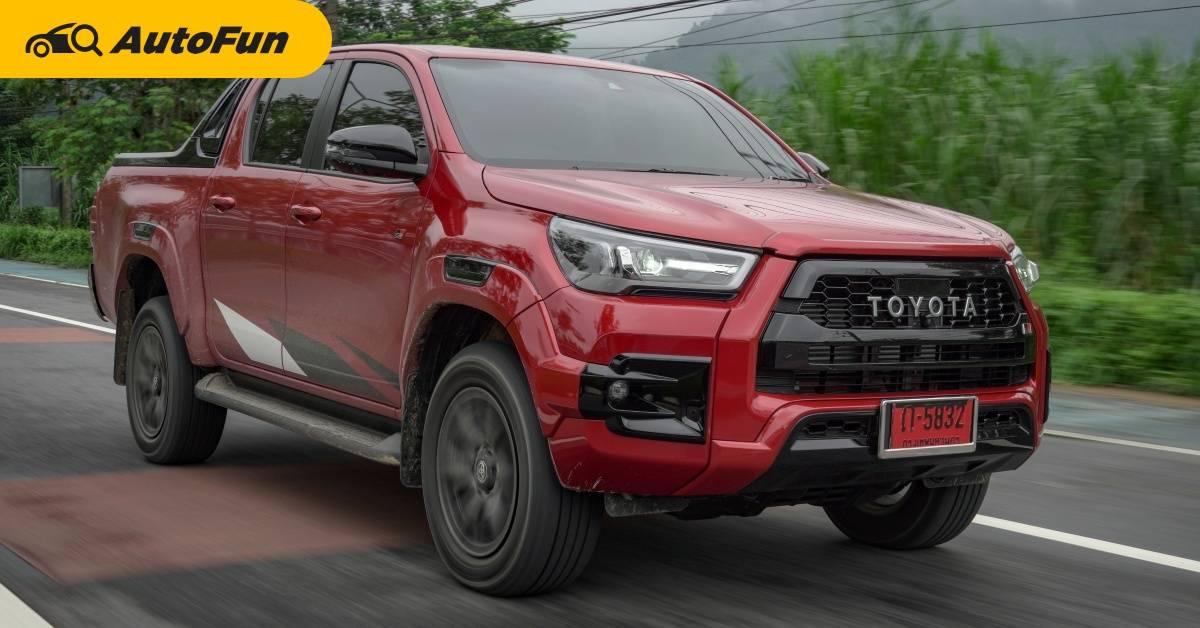 ลองขับ 2021 Toyota Hilux REVO GR Sport ปรับโช๊คใหม่ หน้าตาหล่อเหลา เอาใจชาวเมืองล่ะ!!! 01