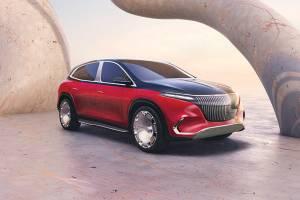 เปิดตัวรถต้นแบบ Mercedes-Maybach EQS รถยนต์ไฟฟ้าคันแรกของมายบัค