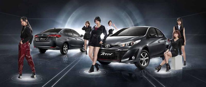 วัดสเปก 2019 Mitsubishi Attrage และ 2019 Toyota Yaris Ativ ซีดานอีโคคาร์ค่าตัว 6 แสนบาท 02