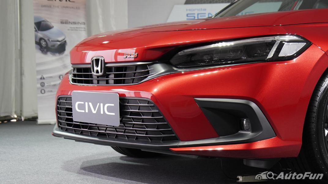 2022 Honda Civic RS Exterior 065