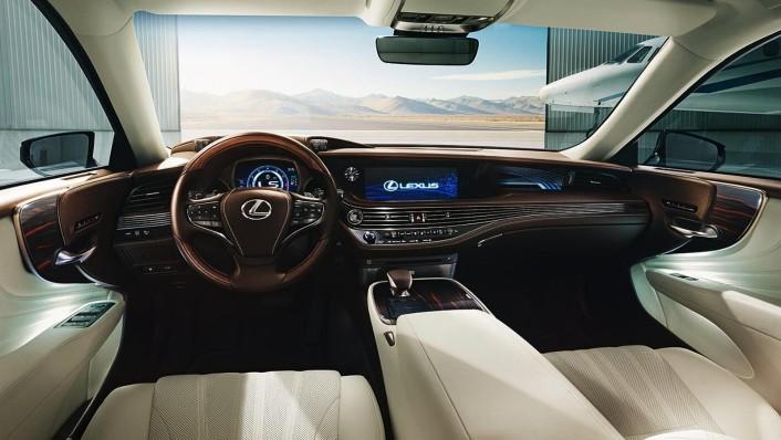 Lexus LS 2020 Interior 001
