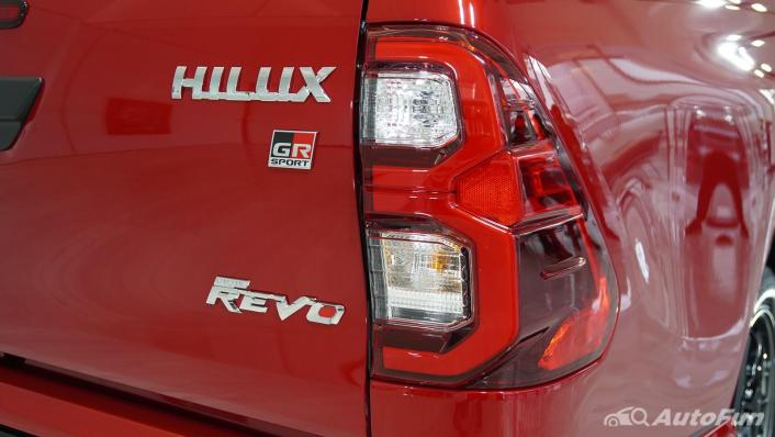 2021 Toyota Hilux Revo Double Cab 4x2 2.8 GR Sport AT Exterior 007