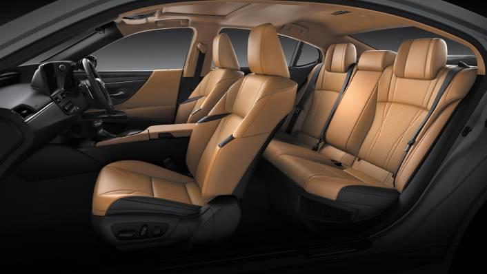 2021 Lexus ES 300h Premium Interior 008