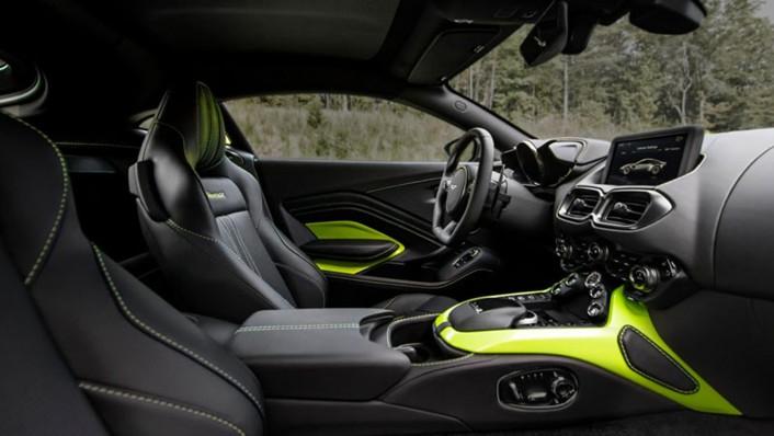 Aston Martin V8 Vantage 2020 Interior 001