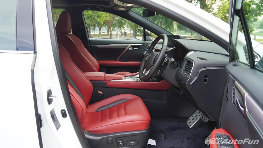 2020 Lexus RX 3.5 350 F Sport Interior 037