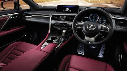 Lexus RX 2020 Interior 002