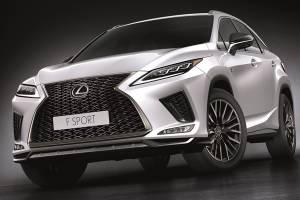 Lexus RX รุ่นปรับปรุง สุนทรียภาพที่ไร้ขีดจำกัด พร้อมสีใหม่ Sonic Chrome และ Sonic Iridium