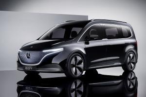 2022 Mercedes-Benz Concept EQT แวนเล็กสเปคไฟฟ้าล้วน 7 ที่นั่งประตูสไลด์ ขายจริงปีหน้า
