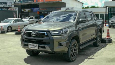 2021 Toyota Hilux Revo Double Cab 4x4 2.8 High AT ราคารถ, รีวิว, สเปค, รูปภาพรถในประเทศไทย | AutoFun