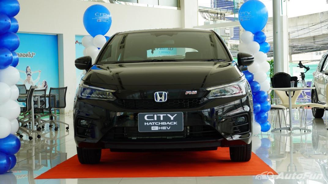 2021 Honda City Hatchback e:HEV RS Exterior 044