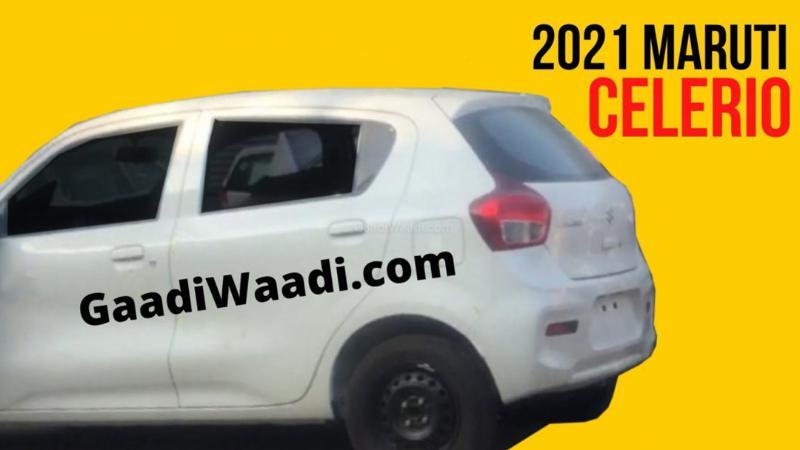 สปายช็อตโชว์บั้นท้าย All-New 2021 Suzuki Celerio คงความเรียบง่าย ภายในกว้างขึ้น 02