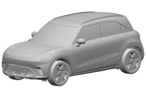 เผยสิทธิบัตรเอสยูวีไฟฟ้าใหม่ของ Smart ร่วมมือกับ Geely พื้นฐานจากรถต้นแบบ Concept #1
