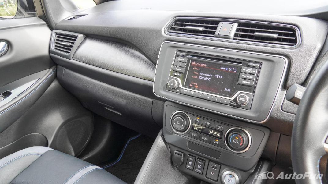 2020 Nissan Leaf Electric Interior 042