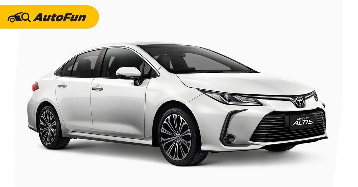 เปิดตัว 2021 Toyota Corolla Altis ใหม่ เพิ่มรุ่น 1.8 Sport เคาะค่าตัวไม่ถึงล้าน 01