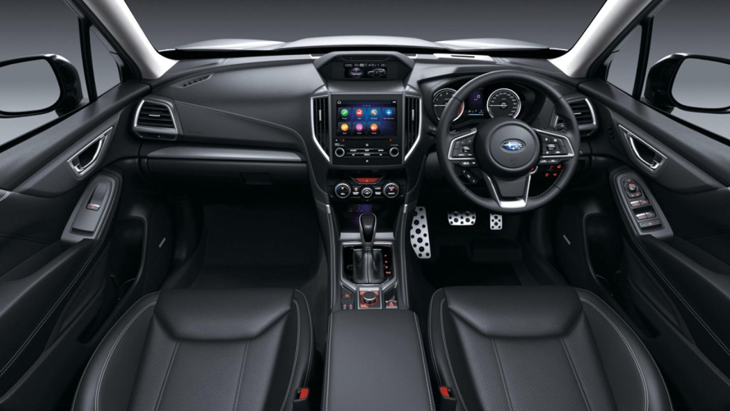 Subaru Forester 2020 Interior 001