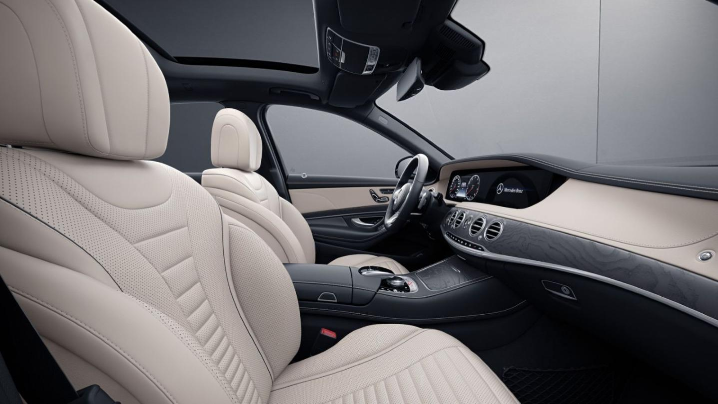 Mercedes-Benz S-Class 2020 Interior 010