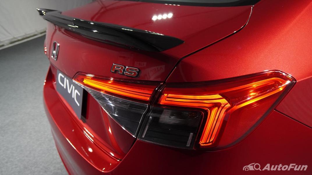 2022 Honda Civic RS Exterior 080