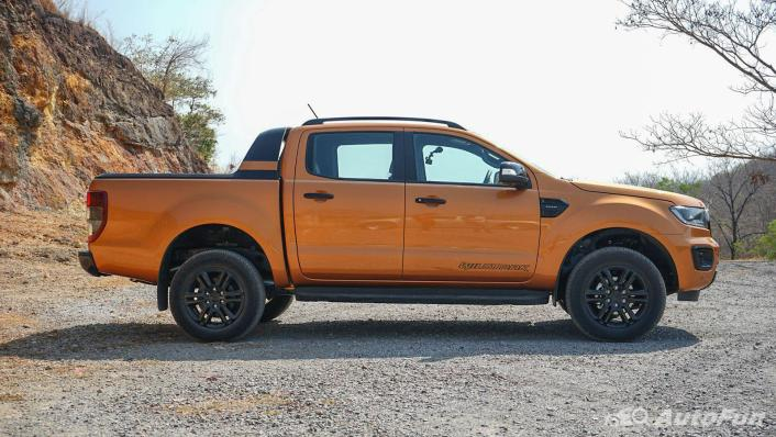 2020 Ford Ranger Double Cab 2.0L Turbo Wildtrak Hi-Rider 10AT Exterior 004