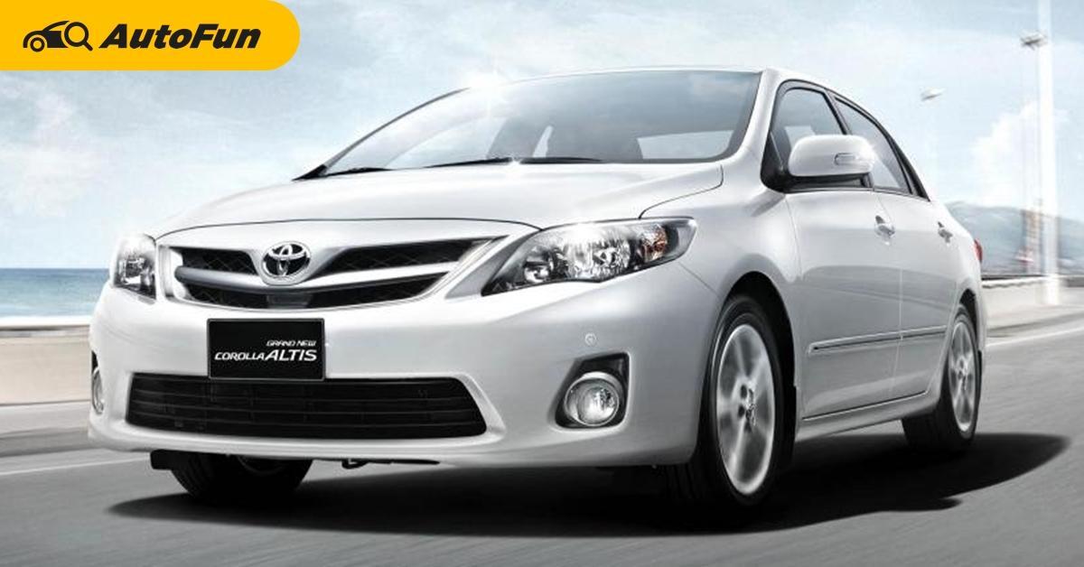 Toyota Corolla Altis เจน 10 หน้าแบน เครื่องไหนน่าใช้ แค่ 1.6 หรือไป 1.8 ดี? 01