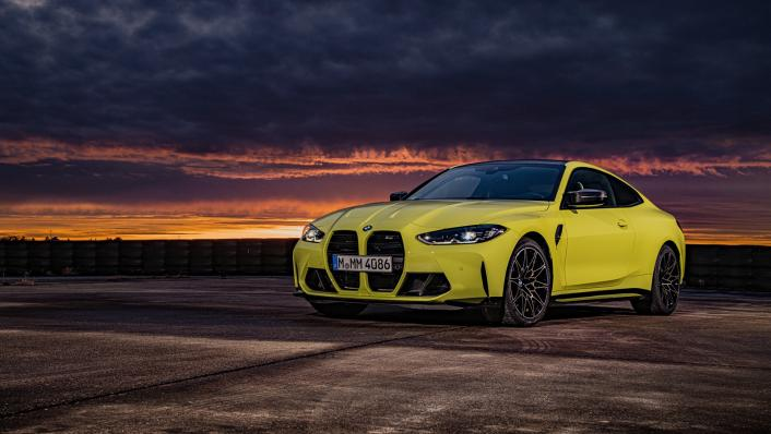 2021 BMW M4 Coupe Competition Exterior 008