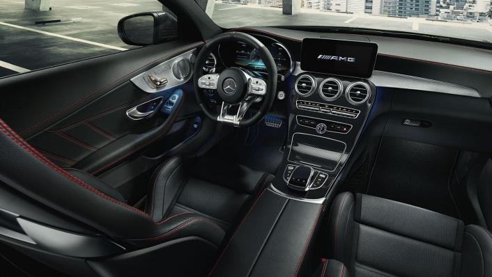 Mercedes-Benz C-Class Coupe 2020 Interior 004