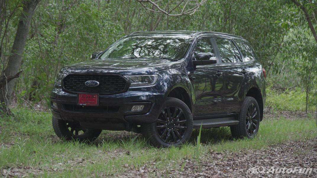 2021 Ford Everest 2.0L Turbo Titanium 4x2 10AT - SPORT Exterior 007