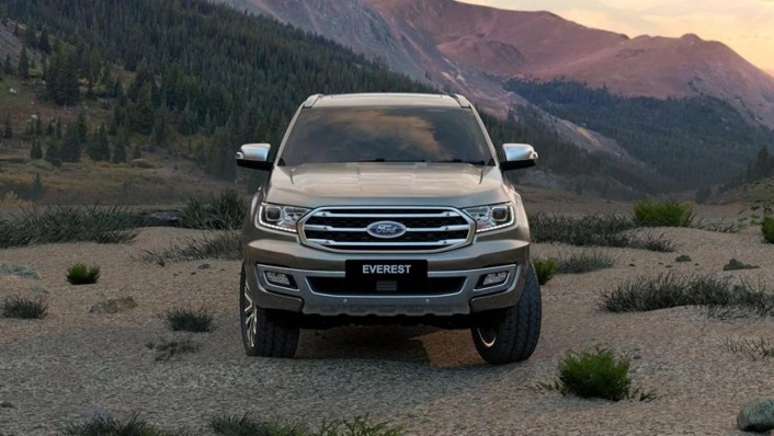 Ford Everest 2020 Exterior 004