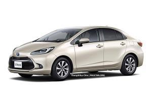 เผยภาพร่าง 2022 Toyota Vios ใหม่นุ่มละมุนสายตาอาจมาพร้อมระบบไฮบริด!