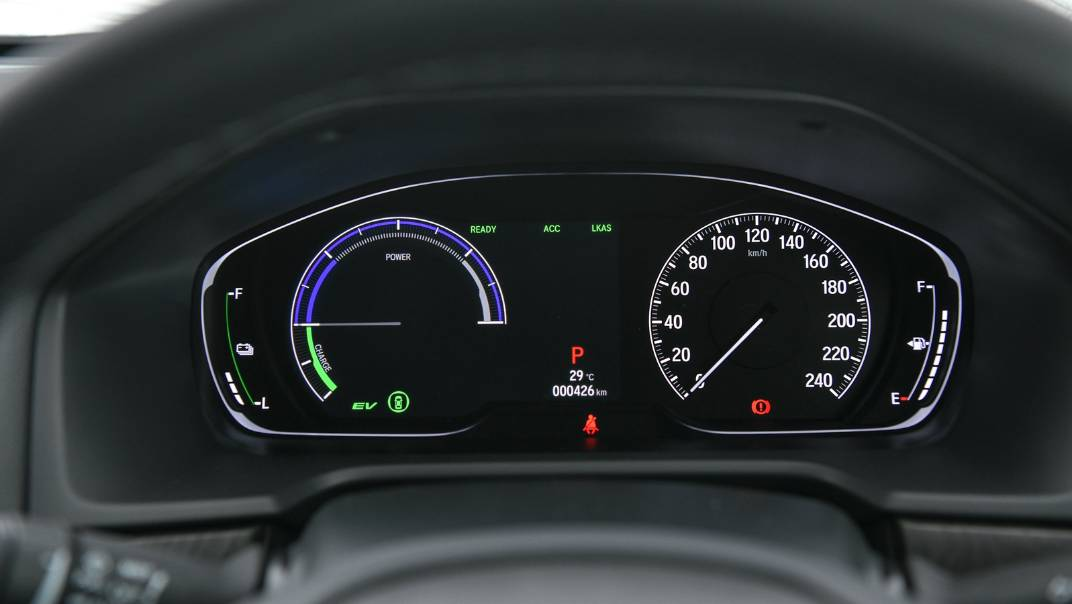 2021 Honda Accord 2.0L e:HEV EL+ Interior 012